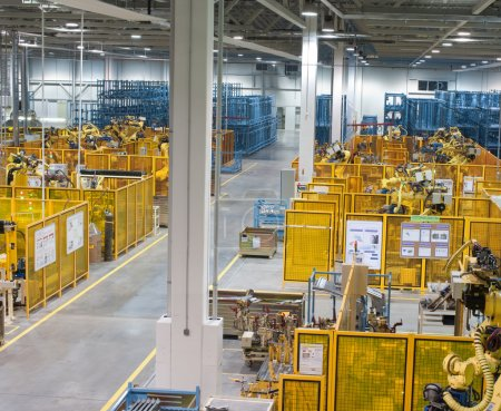 The image with Factory indoor