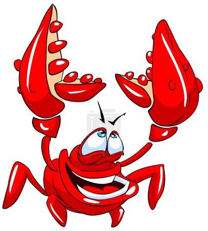 Funny crab.