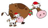Vánoční krávy