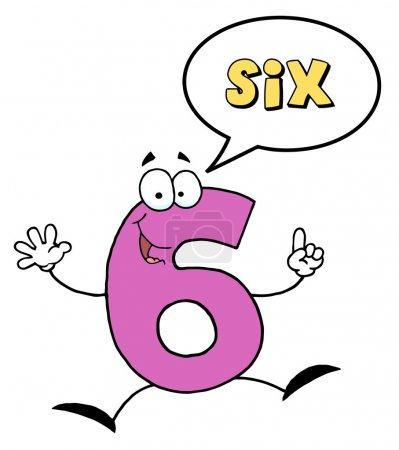 Number Six Character Saying Six
