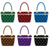 Ladies fashion handbags set