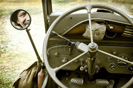 Detail of jeep Willys