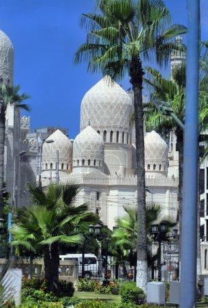 Mosque of Abu El Abbas Masjid, Alexandria, Egypt...