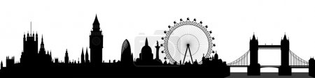 London skyline - vector