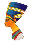 """Постер, картина, фотообои """"Королева древнего Египта - вектор"""""""