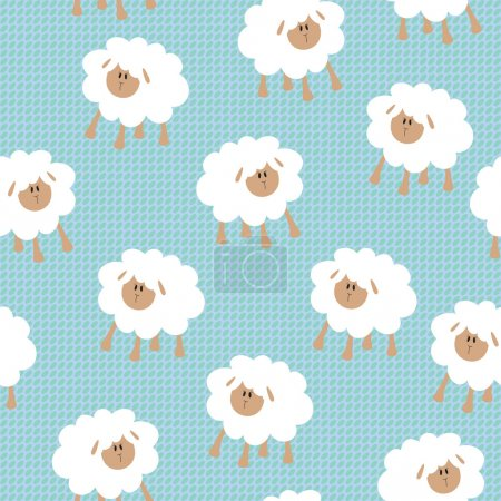 Illustration for Seamless wallpaper pattern - Royalty Free Image