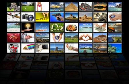 Virtual screen reflection