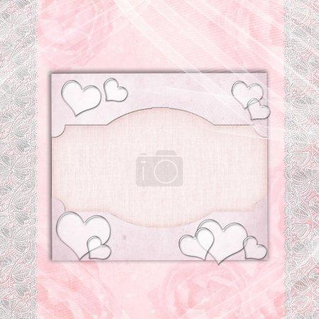 Wedding Album cover or card