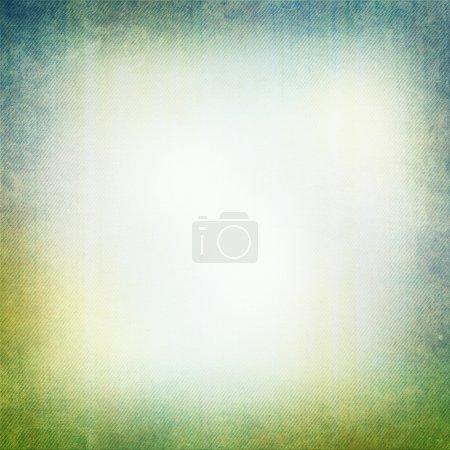 Photo pour Fond grunge en vert et bleu - image libre de droit
