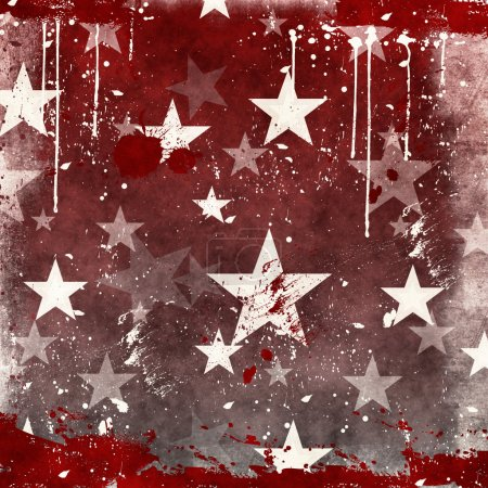 Photo for Abstract christmas red background - Royalty Free Image