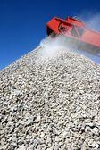 Stavebního kamene a dopravník