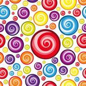 Vector Seamless Multicolor Wallpaper