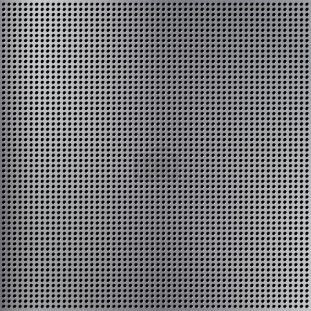 Illustration for Round cell metal background. - Royalty Free Image