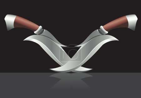 Two daggers