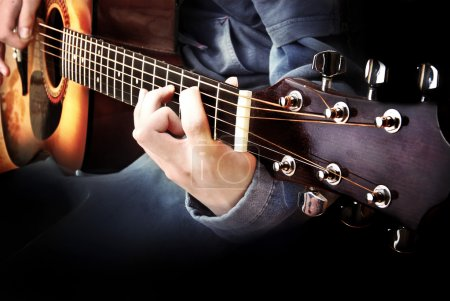Photo for Guitarist play guitar - Royalty Free Image