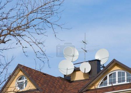 Antennas .