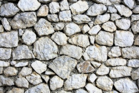 Photo for Wall block structure texture made of stones - Royalty Free Image