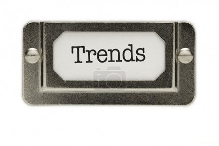 Trends File Drawer Label