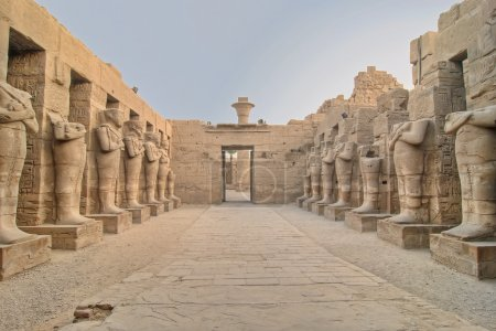 Karnak temple in Luxor, Egypt...