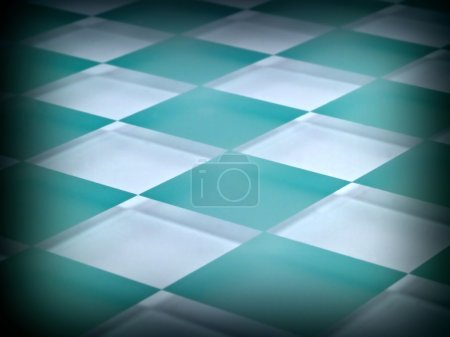 Frosted Glass Checkerboard