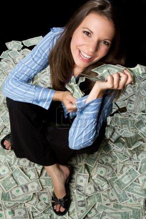 Femme d'argent