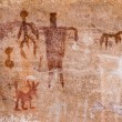 Ancient American Indian wall paintings (a.k.a petr...