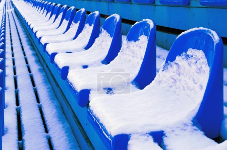 Blue benches 3