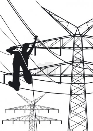 Electrical tower constructions works