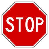 "Постер, картина, фотообои ""Red stop sign"""