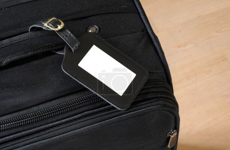 Suitcase label