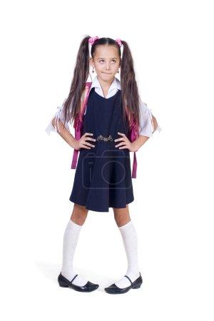 The amusing schoolgirl has reflected.