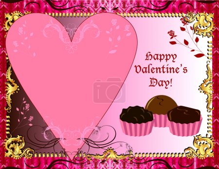 Valentines Chocolate Card