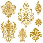 Set of ornate vector ornaments. Perfect for invita...