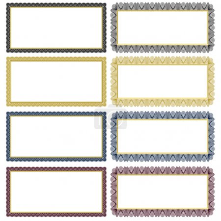 Vector Filigree Frame Set