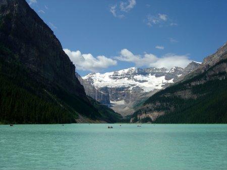 Photo pour Beau lac louise, banff en alberta, canada. - image libre de droit