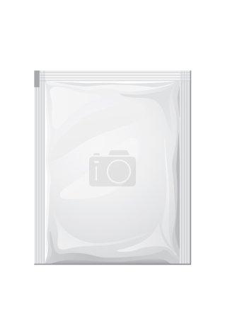 Illustration for Food bag for new design, vector - Royalty Free Image