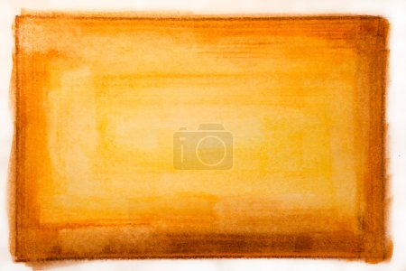 Photo for Red and Yellow Water Color Paint Texture - Royalty Free Image