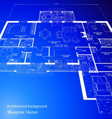 Blueprint. Vector