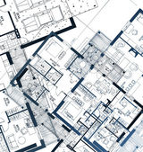 Horizontal Blueprint Vector illustration