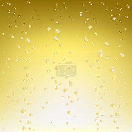 Illustration pour Beau fond Champagne, Illustration vectorielle - image libre de droit
