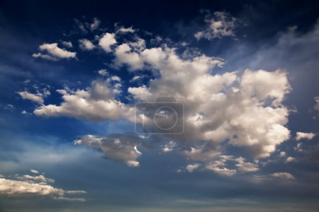 Photo for Blue Sky and clouds background - Royalty Free Image