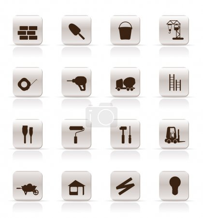 Construction and Building Icon Set