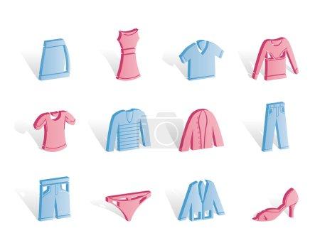 Clothing internet Icons