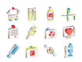Ikony lékařství a zdravotnictví