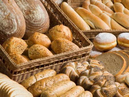 Photo for Assortment of bakery goods - Royalty Free Image