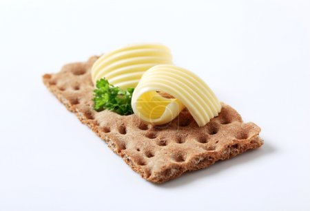 Crisp bread and butter