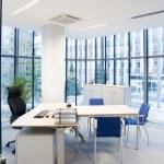 Interior of a modern office...