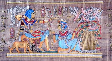 Photo pour Papyrus égyptien antique - image libre de droit