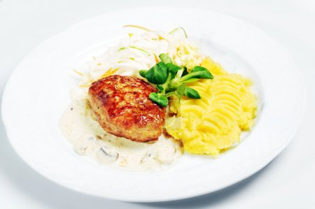 Cutlet with potato