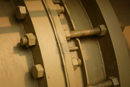 Flange of pipe